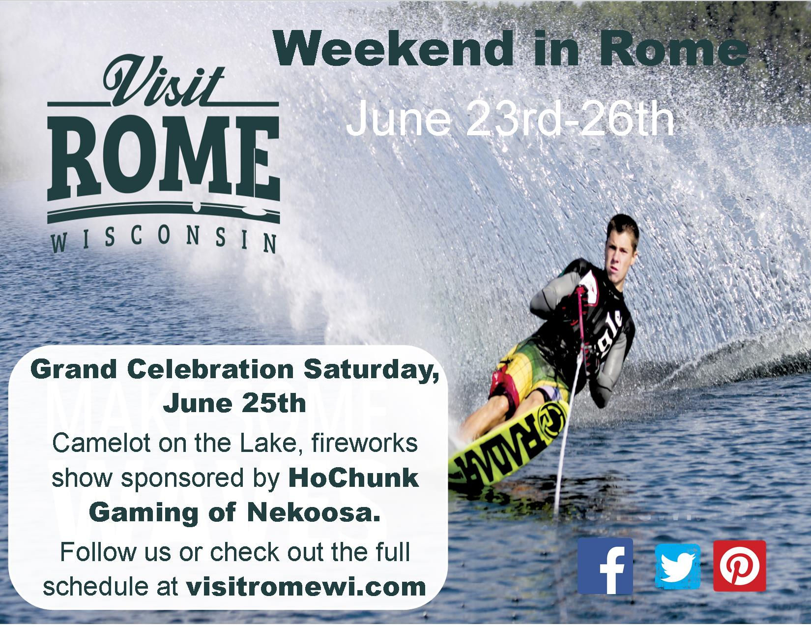 WEEKEND IN ROME AD